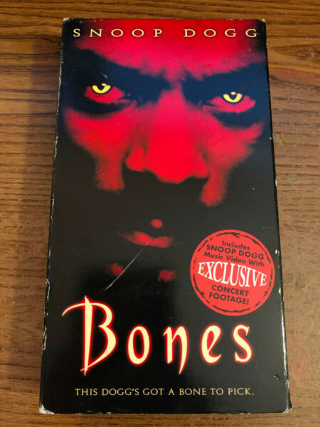 Bones VHS VCR Tapes Movie Michael T. WeissSnoop Dog Rated R Used $3.95