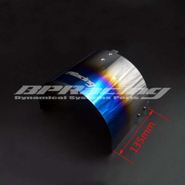 Universal Titanizing Air Filter Heat Shield For 2.25quot; TO 3.5quot; inch Cone Filter $19.00