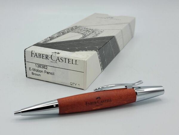 Faber Castell e Motion Brown Wood Pencil