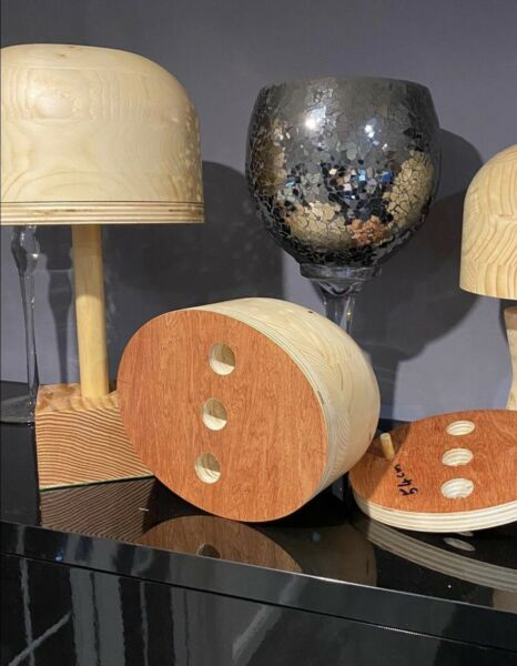 MILLINERY WOODEN HAT BLOCKS WITH EXTENSION PLATES Made To Order With Your Sizes