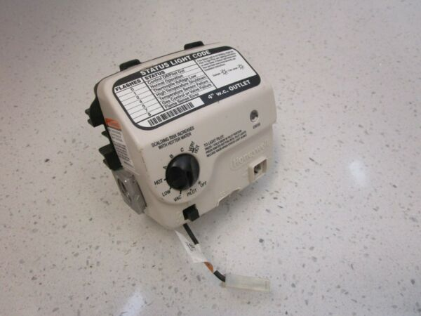Honeywell WV8840B1158 Natural Gas Water Heater Control Valve Thermostat $68.50
