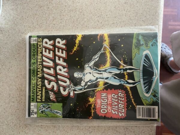 Marvel Silver Surfer #1 The original 1979 bought new Off Rack . never read. $3900.00