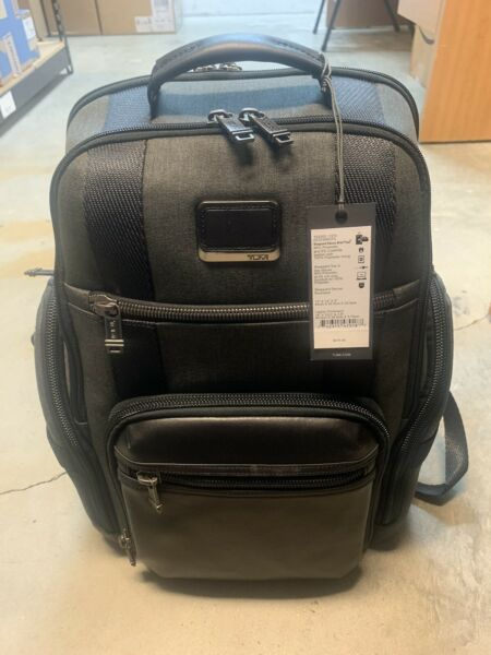 TUMI Sheppard Deluxe Brief Pack Ready to Ship $390.00
