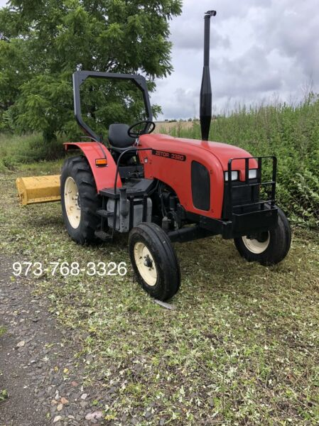 Zetor 3320 Tractor Lawn Mower Attachment 2wd 50hp Low Hrs Deere $9000.00