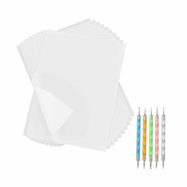 180 Sheets White Carbon Paper Transfer Tracing Copy Paper 11.7 x 8.3 Inch Stylus $12.95