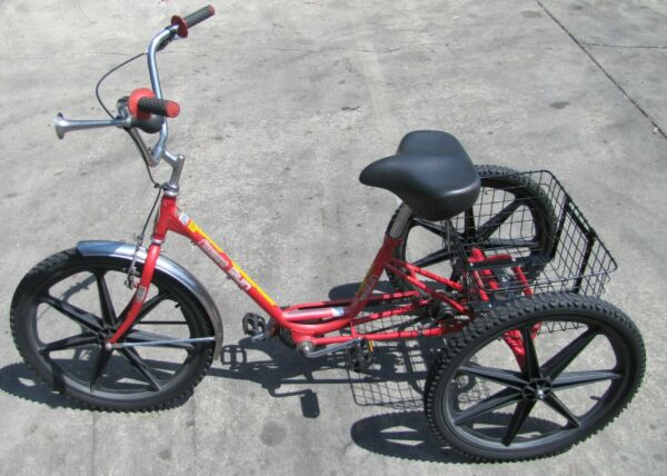 Miami Sun Tricycle Trike Bike 3 Wheeler with Basket and Horn $629.10