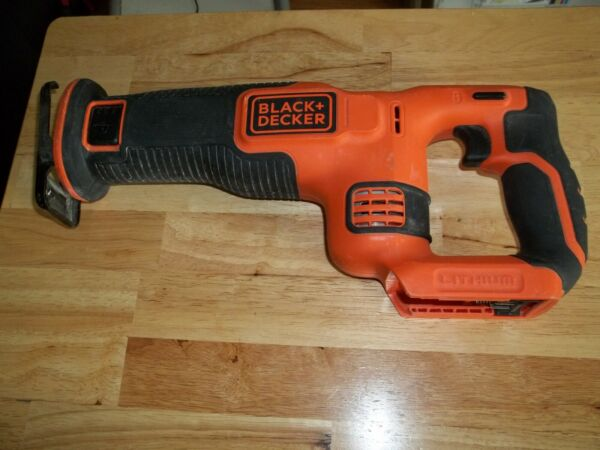 used black and decker 20 volt reciprocating saw