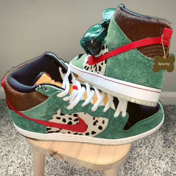 Nike SB Dunk High • Walk The Dog • Size 14 • Brand New • 100% Authentic $1150.00