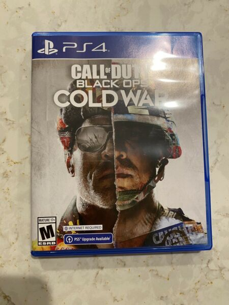CALL OF DUTY: BLACK OPS COLD WAR Used PS4 Game PlayStation 4 USA Release CoD $37.98