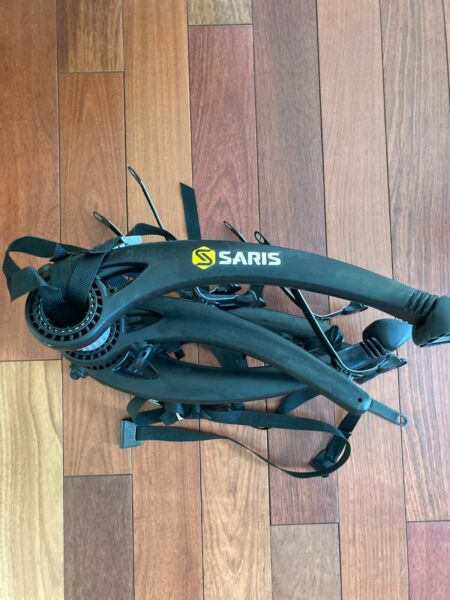 Saris Bones 2 Bike Trunk Rack Used Once Just Like out of the box $169.00