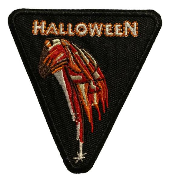 Halloween Movie Logo Iron On Patch Michael Myers 3quot; x 3quot;