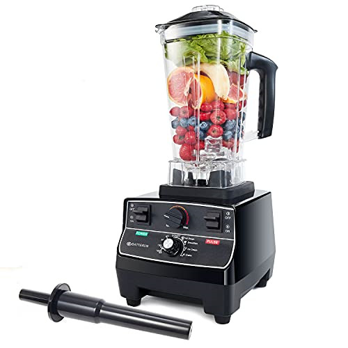 BATEERUN Professional Blender for Shakes and Smoothies Countertop Blenders for