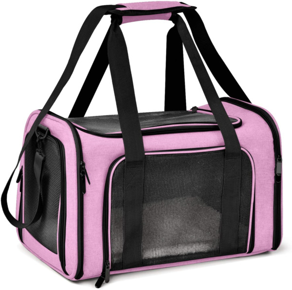 Henkelion Large Cat Carriers Dog Carrier Pet Carrier for Large Cats Dogs Puppies $52.99