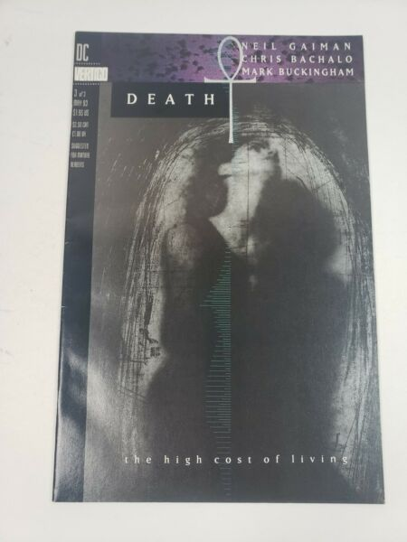 Death the High Cost of Living Issue 3 DC Comics ERROR EDITION 1993 $19.99