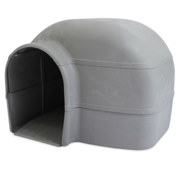 Large Dog House Kennel Cabin Pet Cage Outdoor Plastic Heavy duty All Season New $109.99