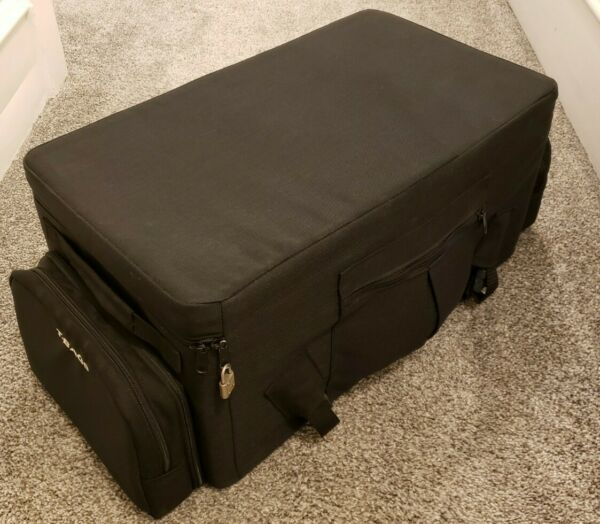 T Bags Motorcycle Bag Trunk Bag Sissy Bar Bag Rectangle Insulated? Convertible $45.00
