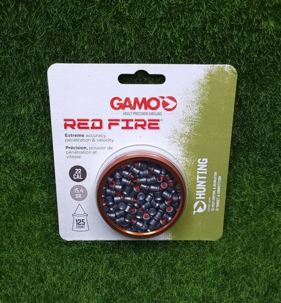 Gamo Red Fire Hunting Target Pellets .22 125 Count Tin 15.4GR. 632270454 $13.58