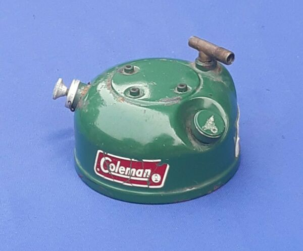 Vtg Coleman Single Burner Stove Model 502 Replacement Tank Only Dated 5 83
