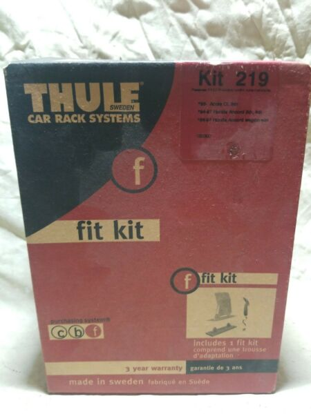 THULE Rack System Kit 219 96 ACURA CL 94 97 HONDA ACCORD NOS BRAND NEW SEALED $49.99