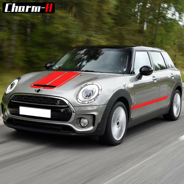 Car Door Side Stripes Hood Cover Rear Body Decal For MINI Cooper Clubman F54 $22.14