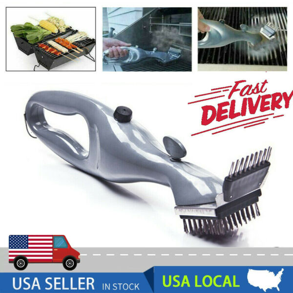 USA Grill Daddy Steam Cleaning Barbeque Grill Brush For Charcoal Clean NEW