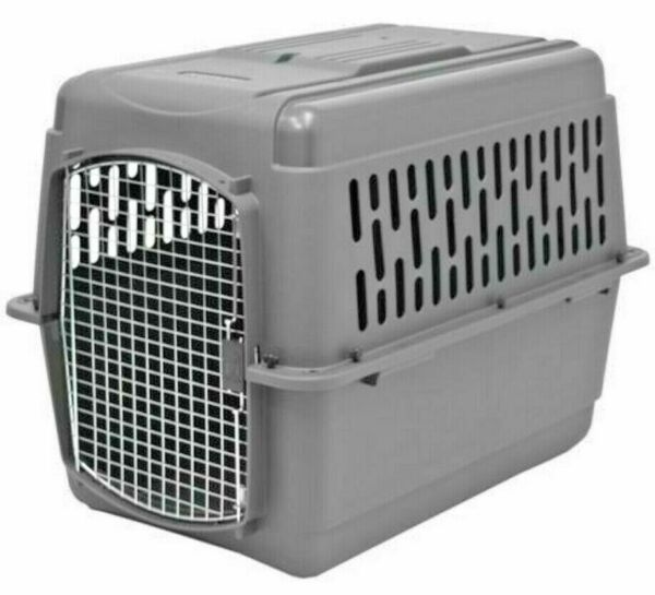 X Large Dog Crate Carrier Kennel Durable Ventilated Plastic Transport Portable $167.80