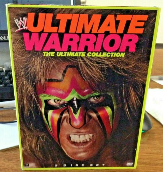 ULTIMATE WARRIOR: Ultimate Collection DVD 3 Disc Set WWE WWF