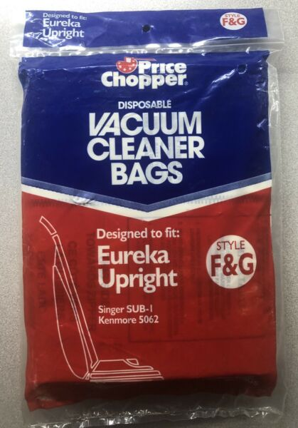 Eureka Upright Style F amp; G Disposable Bags 2Bags $6.99