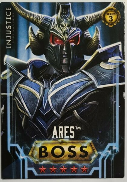 Injustice Series 3 ARES BOSS Card #113