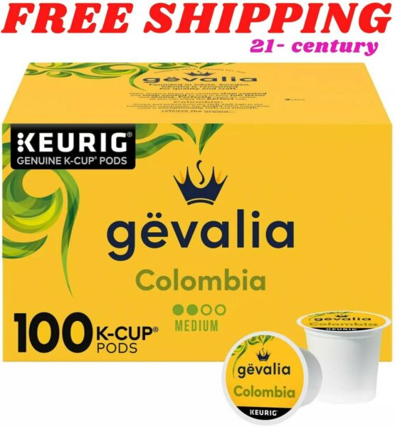 Gevalia Colombian K Cup Coffee Pods 100 ct. FREE SHIPPING