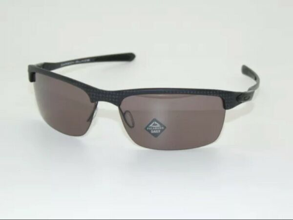 Oakley Carbon Blade OO9174 Matte Carbon Fiber Prizm Daily Polarized New In Box $259.99