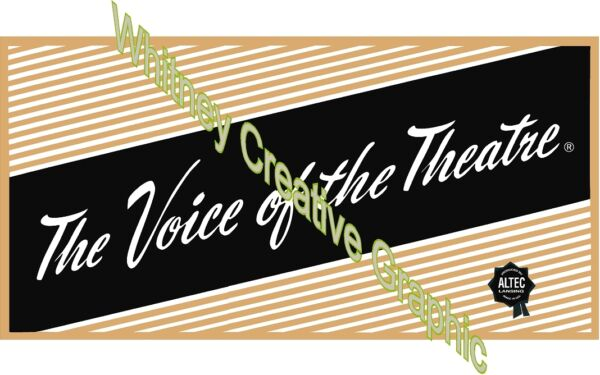 Altec Voice Of The Theater DECAL set of four 4