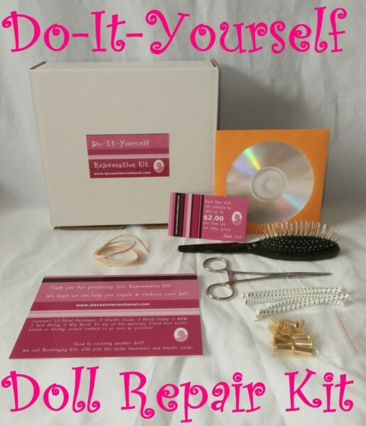 Do-It-Yourself Doll Hospital Kit - Repair Restring Rewig for American Girl