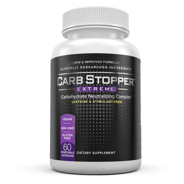 CARB STOPPER EXTREME #1 Starch Blocker Carbohydrate Neutralizing Complex $19.95