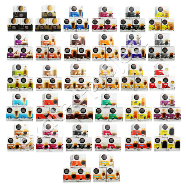 Nescafe Dolce Gusto Coffee Drink Pods Capsules - Pick Your Flavor