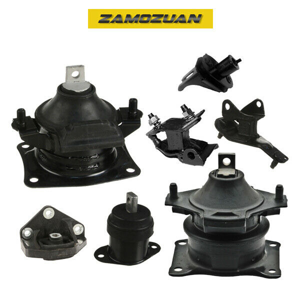 Engine Motor & Trans. Mount Set 7PCS for 2004-2008 Acura TSX 2.4L L4 for Auto.