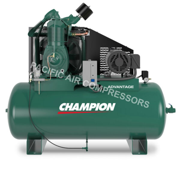 CHAMPION AIR COMPRESSOR HRA15-12 FULLY PACKAGED 15 HP 3 PHASE 230V 7100E15FP