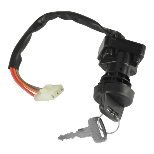Ignition Key Switch for Arctic Cat 400 2X4 4X4 Fis Vp Act Mrp Manual 2000 2007 $10.74