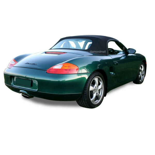 Porsche Boxster 986 Convertible Soft Top Replacement 1997-2002 Black Stayfast PC