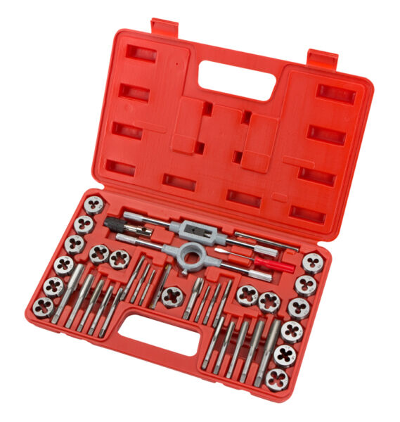 TEKTON 7559 Tap and Die Set Metric 39 Piece