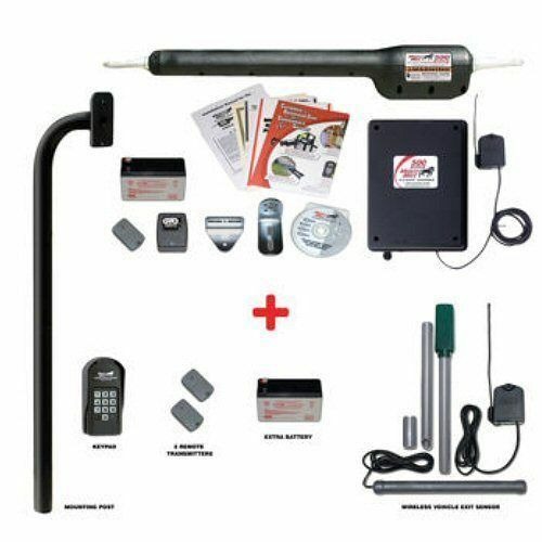 Mighty Mule Premium Tacoma I Automatic Single Gate Opener Package