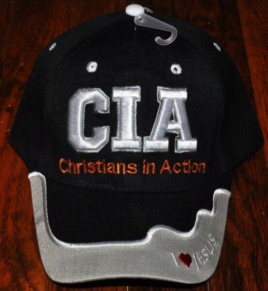 CIA Christians In Action Christian Hat Ball Cap I Love Heart Jesus Pink Camo