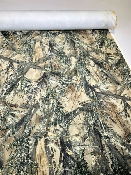 Ameri Suede Camo Fabric Upholstery MC2 True Timber 60quot; W Hunt Velvet Soft By Yd