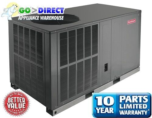 Goodman 4 Ton 14 Seer Horizontal R410 Heat Pump Package Unit GPH1448H41
