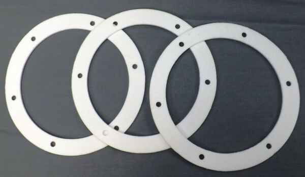 Pellet Stove 6quot; Fan Gasket Exhaust Combustion. Motor Mount to Housing Seal 3 PK $9.99