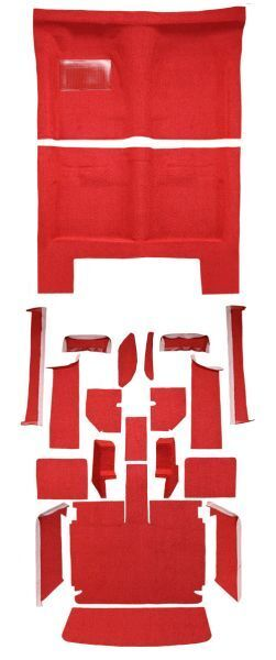 Carpet Kit For 1967 Dodge Charger Automatic Complete Kit
