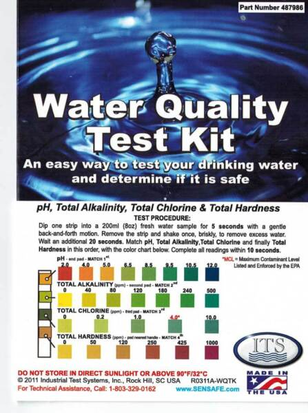 Water Test Kit 15 Parameters Including Lead & Pesticides Great for Well Water