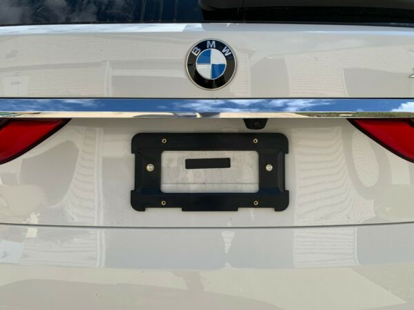REAR LICENSE PLATE HOLDER BRACKET FOR BMW 6 Unique Screws amp; Wrench NEW