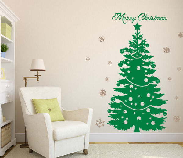 Christmas Tree Special Wall Art Sticker Wall Decal Tree Sticker HIGH QUALITY