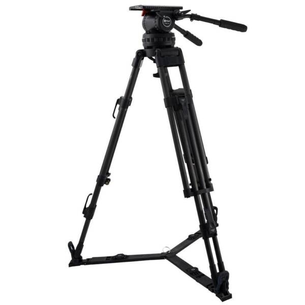 NEW Contour CT57K - Video 57 Fluid Head & 2-Stage 100mm Carbon Fiber Tripod